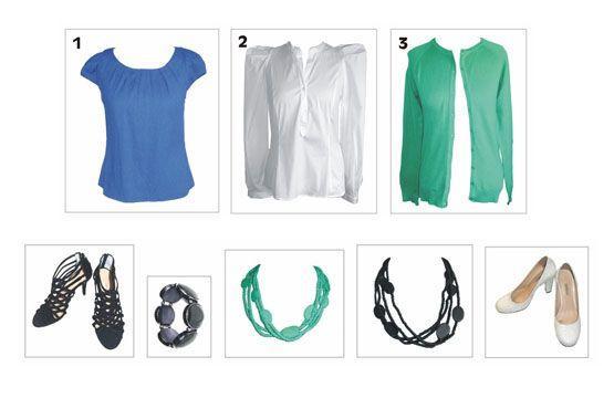 F Como montar 12 looks com apenas 6 peças de roupa