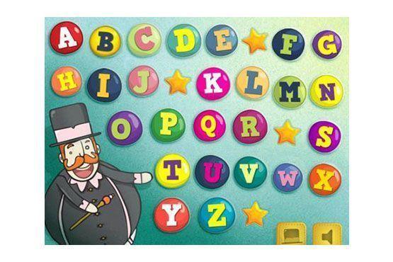 O aplicativo é um abecedário interativo em português feito para crianças que estão aprendendo a ler e escrever.