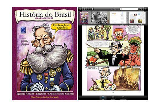 O aplicativo é um livro digital com conteúdo bem interessante e fácil de entender.