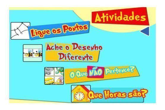 Para estimular o raciocínio e a coordenação motora, o aplicativo oferece quatro estilos de jogos.