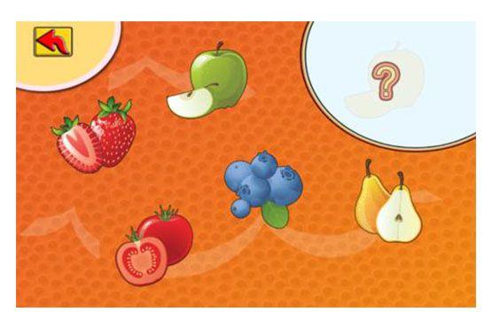 O aplicativo auxilia no desenvolvimento da percepção visual e de habilidades motoras das crianças, ao mesmo tempo que ensina sobre as cores, frutas e legumes.