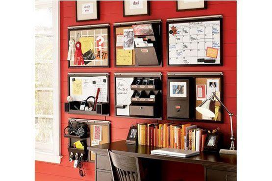 Painéis que permitem a visualização das atividades e dão acesso a objetos. Foto: Pinterest