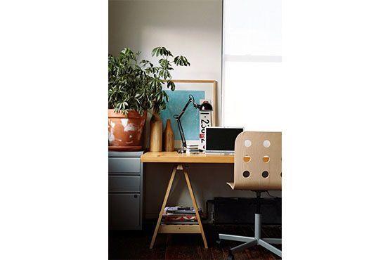 Decoração minimalista dá sensação de tranquilidade. Foto: Pinterest