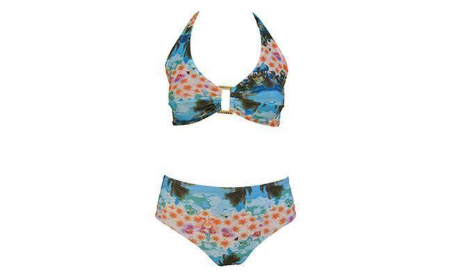 Bikini im Detail in Lycra - Net von R $ 69,00 in Ebiquini