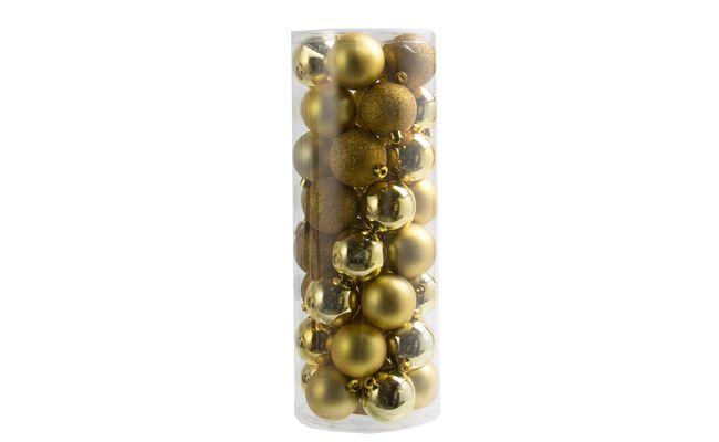 """Conjunto bolas Natal Litter 40 peças por R$ 35,99 na <a href=""""http://www.etna.com.br/CONJUNTO-BOLAS-NATAL--LITTER--40PECAS-6CM-80530.aspx/p"""" target=""""_blank"""">Etna</a>"""
