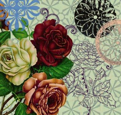 Linda de morrer, a série Calu Rosa (acima) traz todo o romantismo dos arabescos, texturas, animais e tons delicados de rosa, verde-água e turquesa. No formado 20 cm por 20 cm, têm preço sugerido de R$ 14,00 cada azulejo