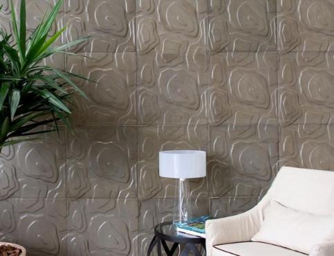 A Solarium também investiu no design assinado. Lançou seis novas linhas que ganharam elementos da natureza, da moda e da Arte Moderna. Inspirada nos acidentes topográficos, a linha Geo (foto acima) recria relevos naturais, com leves ondulações.  É assinada pela designer Renata Rubim.