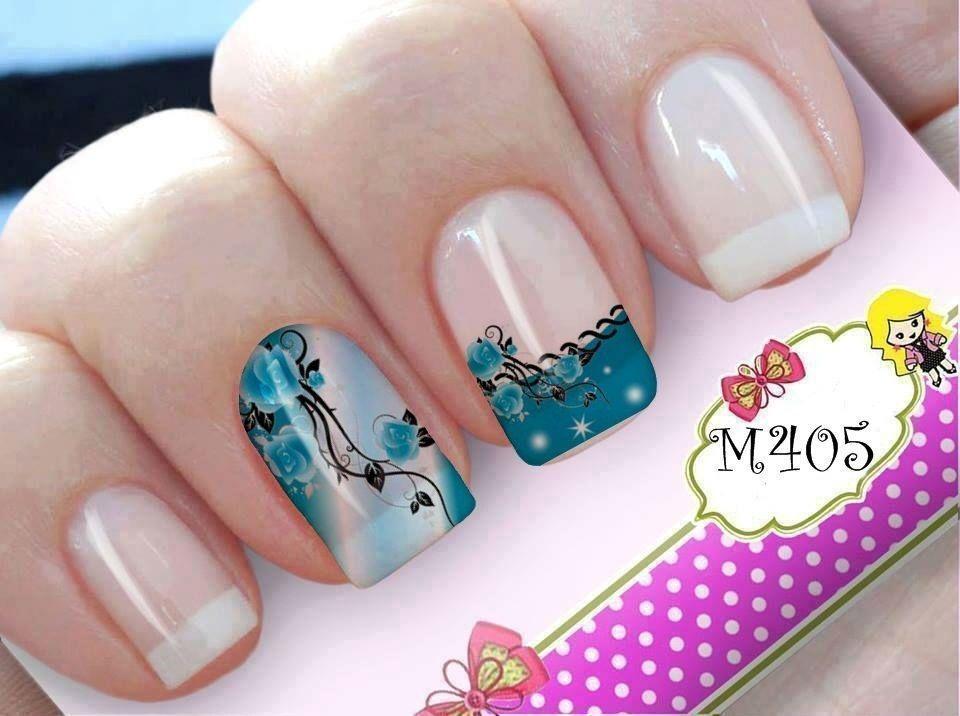 Artesanato Quilling ~ Adesivo de unha opç u00e3o prática para quem gosta de variar a nail art Dicas de Mulher