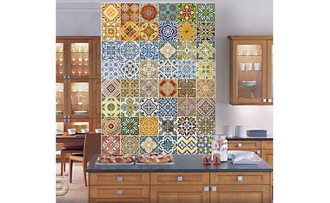 Adesivo De Madeira Para Piso ~ Renove o ambiente com adesivos para azulejos Dicas de Mulher