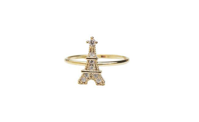 """Anel de falange Torre Eiffel por R$26,90 na <a href=""""http://www.upacessorios.com.br/bijuterias/aneis/anel-de-falange-eiffel.html"""" target=""""_blank""""> Up Acessórios</a>"""