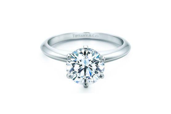 Anel de noivado The Tiffany Setting (preço não informado) Tiffany & Co.