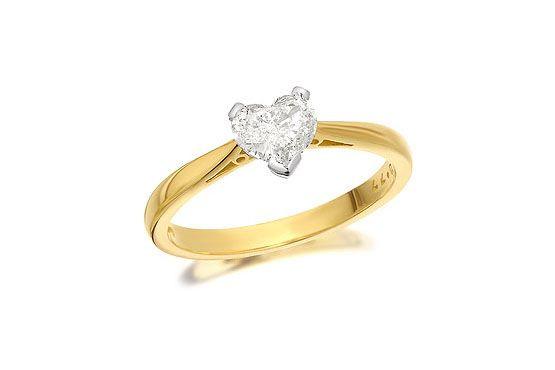 Anel de noivado F.Hinds por £1799 (aprox. 5.400 Reais)