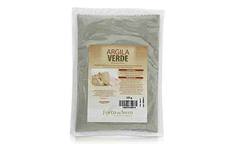 """Argila Verde 250g Força da Terra por R$18,59 na <a href=""""http://www.natue.com.br/argila-verde-250g-forca-da-terra-5521.html"""" target=""""blank_"""">Natue</a>"""