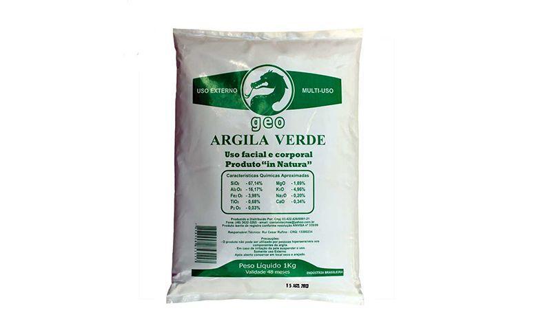 """Argila Verde 1Kg Geo por R$29,90 na <a href=""""http://www.belavidanatural.com.br/argila-verde-medicinal-geo"""" target=""""blank_"""">Bela Vida Natural</a>"""