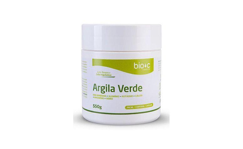 "Argila Verde Bio C por R$21,20 na <a href=""http://www.ikesaki.com.br/argila-verde-bio-c-250g-29577-00/p"" target=""blank_"">IKESAKI Cosméticos</a>"