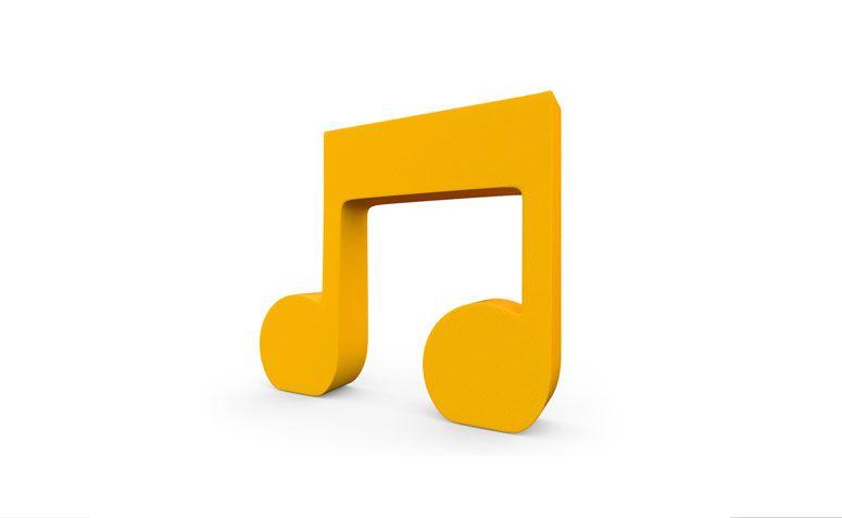 """Símbolo decorativo nota musical por R$ 19,90 na <a href=""""http://www.loveletter.com.br/product/simbolos-para-decoracao/100654/simbolo-decorativo-nota-musical-14cm-de-altura-16cm-de-largura-25mm-de-espessura-amarela"""" target=""""_blank"""">Love letter</a>"""