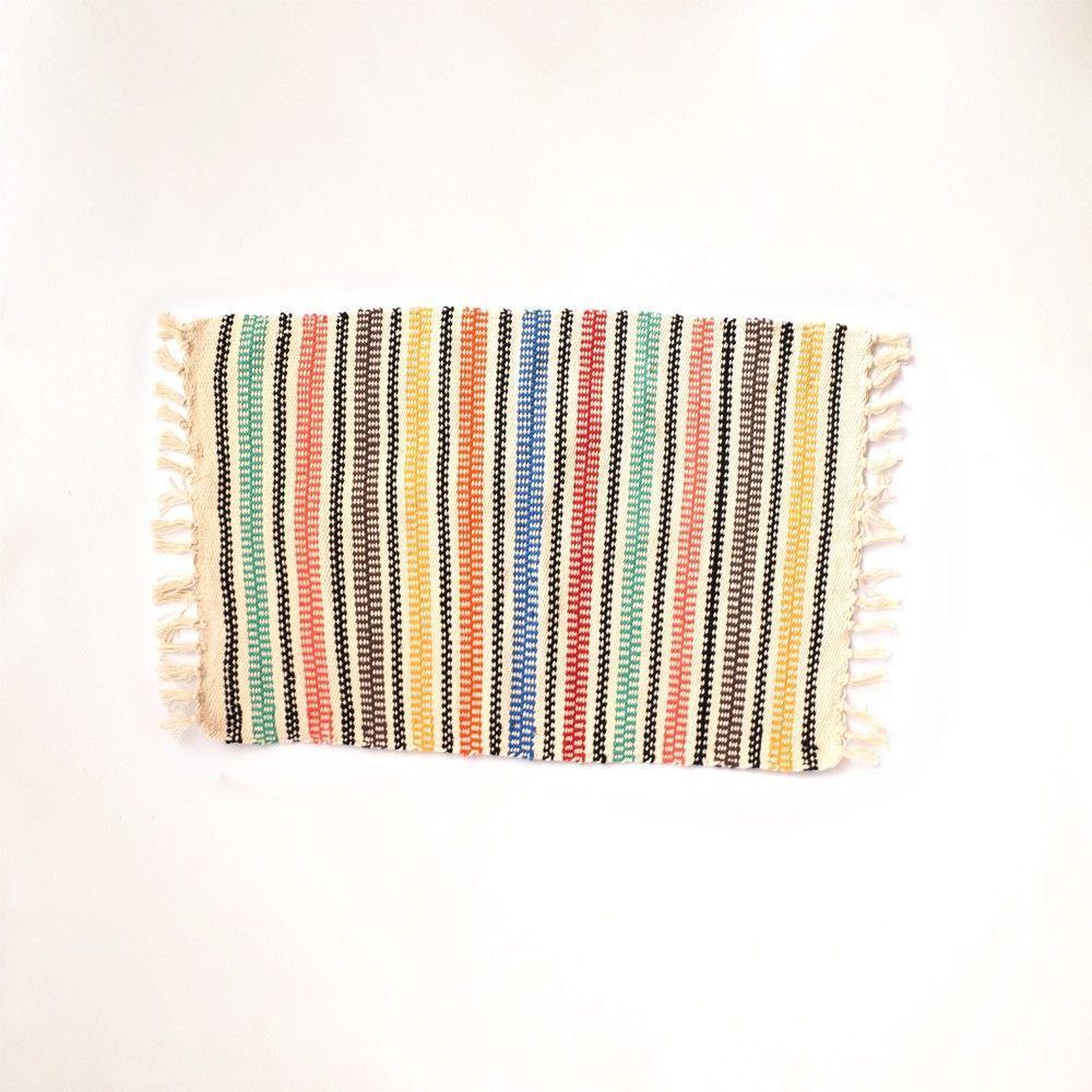 Dywan krosna paski przez R $ 69 na Asta Net
