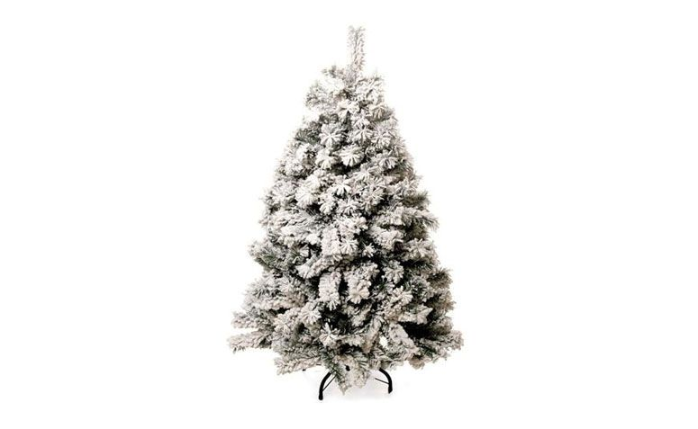 nevadas árbol de navidad 1,20 m de R $ 282,90 en extra