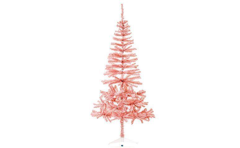 Árbol de Navidad de color rosa 1,80 m de R $ 80.92 en la tienda del equipo
