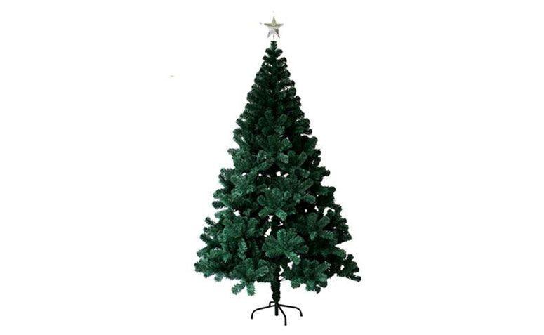 Pino del árbol de navidad suiza 1,50 m de R $ 139,90 en extra