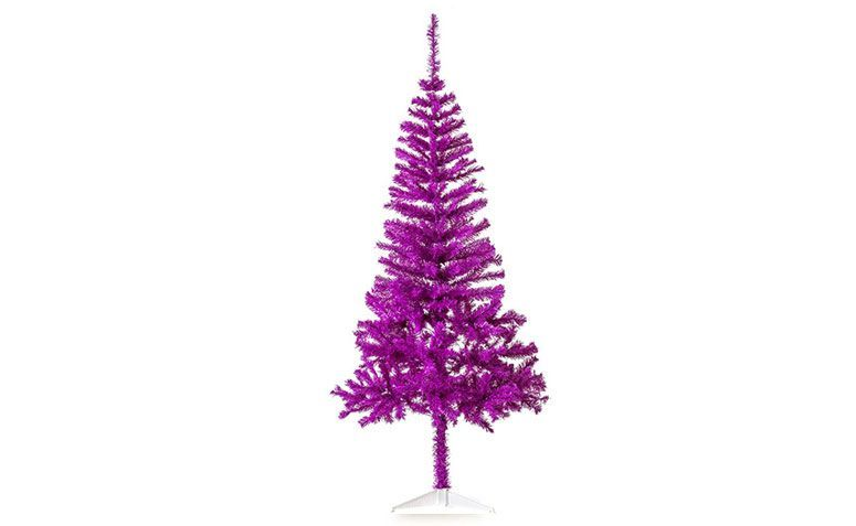 Árbol de navidad púrpura 1,80 m de R $ 107.91 en el submarino