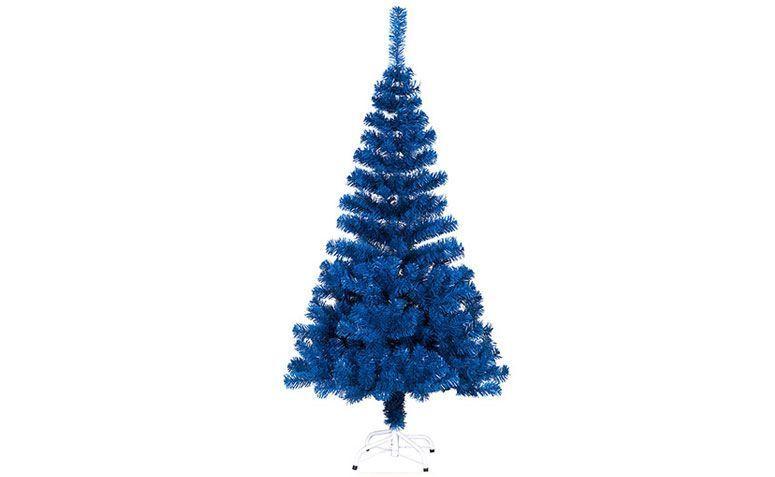Árbol de navidad azul 1,50 m de R $ 120.69 en los EE.UU.