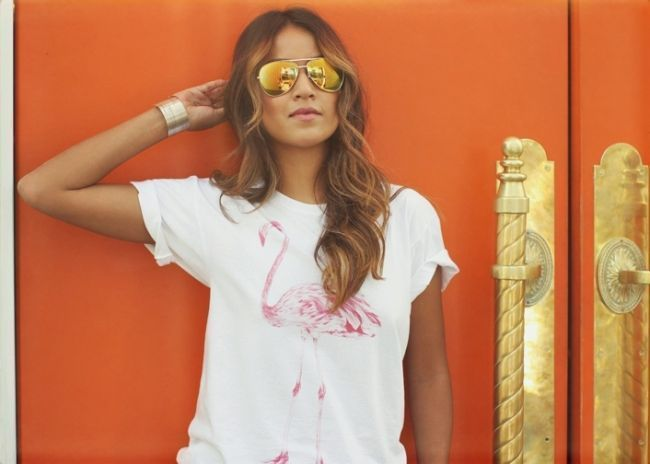 """Foto: Reprodução / <a href=""""http://sincerelyjules.com/2014/08/shop-sincerely-jules-tees.html"""" target=""""_blank"""">Sincerely, Jules</a>"""