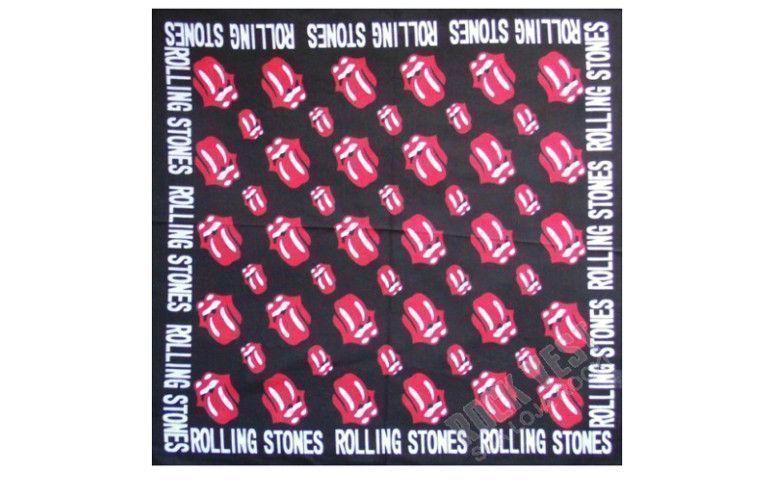 """Bandana Rolling Stones por R$ 9,00 na <a href=""""http://loja.rockvest.com.br/produto/bandanas-lencos/lenco-bandana-rolling-stones.html"""" target=""""blank_"""">Rock Vest</a>"""
