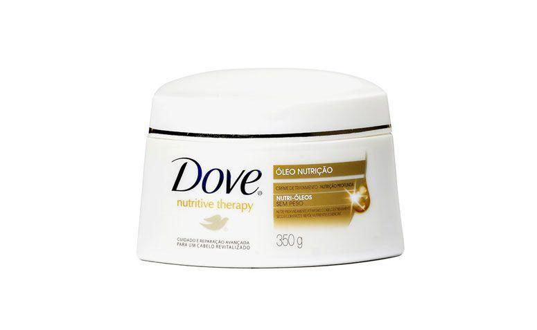 """Creme de tratamento Dove por R$10,90 na <a href=""""http://www.netfarma.com.br/produto/11206/creme-de-tratamento-dove-oleo-nutricao"""" target=""""blank_"""">Netfarma</a>"""
