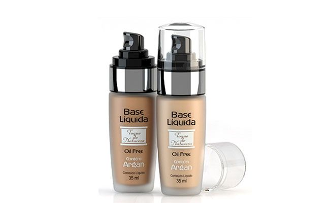 "Base Líquida Toque de Natureza por R$ 32,90 na <a href=""http://www.shopbela.com.br/base-liquida-oil-free-argan-35ml-toque-de-natureza/p"" target=""blank_"">ShopBela</a>"