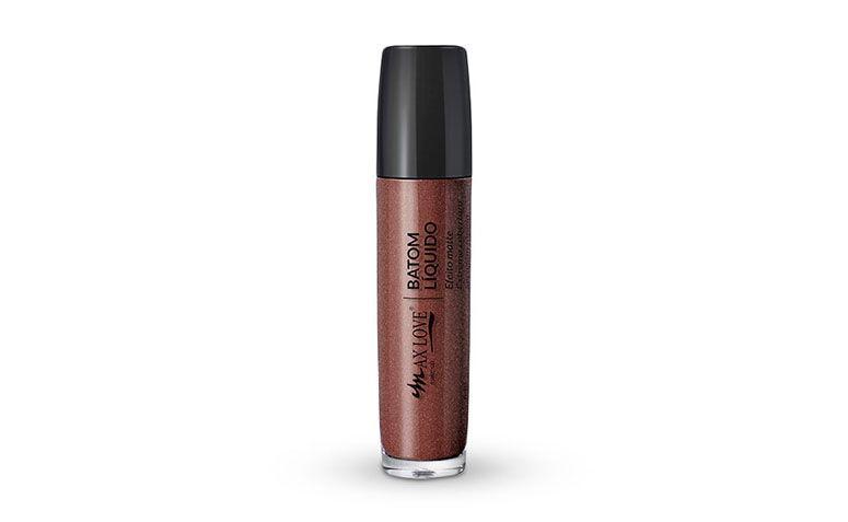 "Batom líquido Max Love Matte Metalizado nº 65 por R$ 11,69 na <a href=""https://www.netfarma.com.br/batom-liquido-max-love-matte-metalizado-n65-marrom-metalic-1un"" rel=""nofollow"" target=""blank_"">Netfarma</a>"
