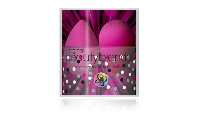 "Beauty Blender Double - 2 Esponja por R$89 na <a href=""http://www.vivadream.com.br/index.php?route=product/product&product_id=939"" target=""blank_"">Viva Dream</a>"