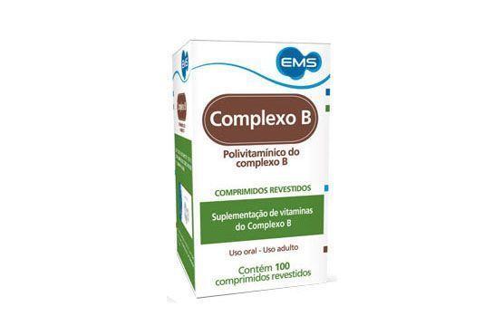 Vitaminas do complexo B com 100 comprimidos por R$13,75 na Onofre