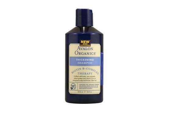 Shampoo orgânico com biotina por R$12,34 na Vitacost