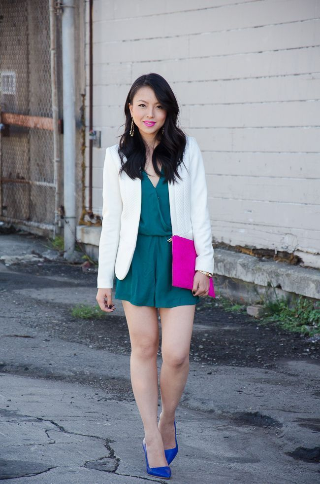 """Foto: Reprodução / <a href=""""http://thefancypantsreport.com/2013/12/09/holiday-outfit-idea-ootd-color-blocked-alice-and-olivia-dina-dumps/"""" target=""""_blank"""">The Fancy Pants Report</a>"""