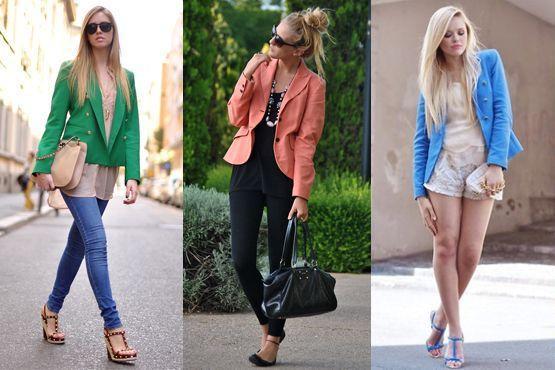 blazer colorido2 A moda do blazer colorido