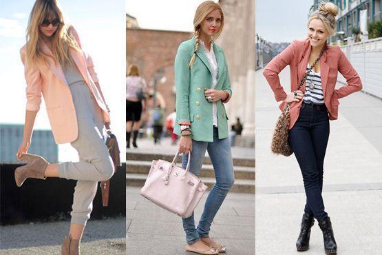 blazer colorido5 A moda do blazer colorido