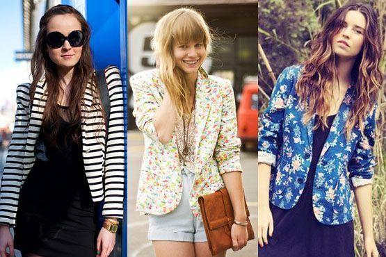 blazer colorido9 A moda do blazer colorido