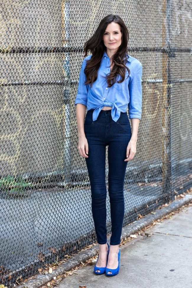 "Foto: Reprodução / <a href=""http://styleonthecouch.com/2013/04/double-denim-gap-urban-outfitters/"" target=""_blank"">Style on the Couch</a>"