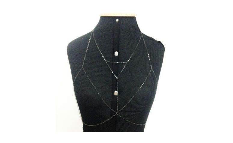 "Body Chain Stripes por R$89,90 na <a href=""http://www.mysticstore.com.br/cintos-e-body-chain/bodychain-stripes/"" target=""blank_"">Mystic Store</a>"