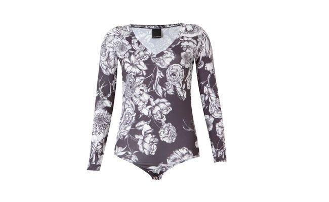 """Body floral por R$197,00 na <a href=""""http://goo.gl/UIbBGO"""" target=""""_blank""""> Dafiti</a>"""