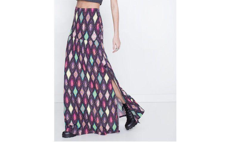 تنورة طويلة لل89.90 $ في Lojas رينر