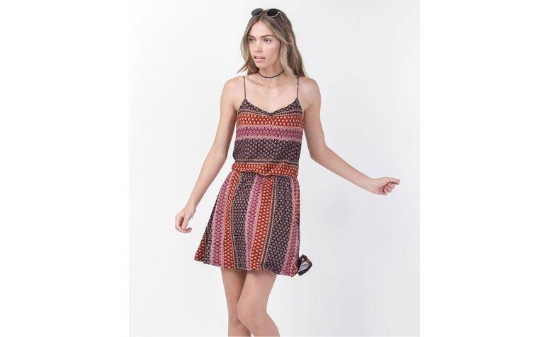 print dress for $ 79.90 at Lojas Renner