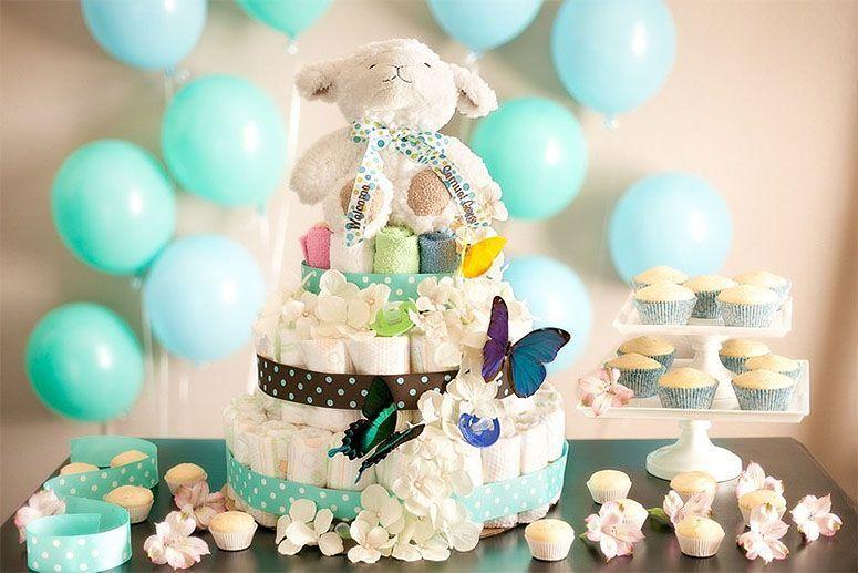"Foto: Reprodução / <a href=""http://www.personalcreations.com/blog/diaper-cake-how-to"" target=""_blank"">Personal Creations</a>"