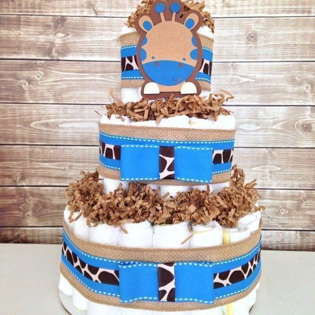 "Foto: Reprodução / <a href=""https://www.instagram.com/p/qKi3GwAC0Q/"" target=""_blank"">All diaper cakes</a>"