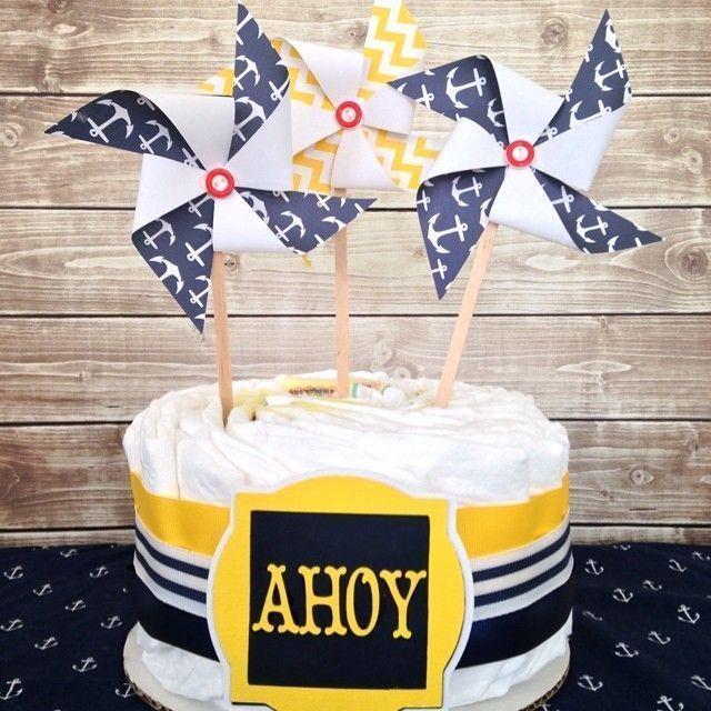 """Foto: Reprodução / <a href=""""https://www.instagram.com/p/pzhmwfACxR/"""" target=""""_blank"""">All diaper cakes</a>"""