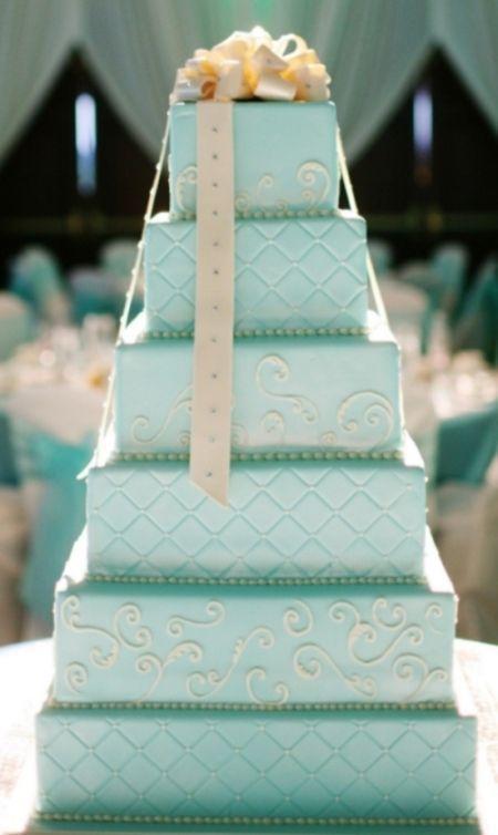"Foto: Reprodução / <a href=""http://www.weddingsromantique.com/tiffany-blue-wedding-theme/"" target=""_blank"">Weddings Romantique</a>"
