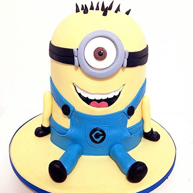 """Foto: Reprodução / <a href=""""http://grazielacake.blogspot.com.br/2015/11/bolo-minions.html"""" target=""""_blank"""">Blog Graziela Cake</a>"""