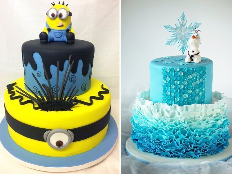 """Foto: Reprodução / <a href=""""http://bolosdecoradosrecife.com.br/blog/mais-pedidos-bolos-decorados-para-meninos-e-meninas/"""" target=""""_blank"""">Blog Jana Brayner</a>"""