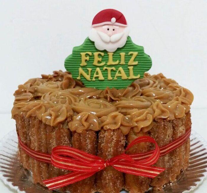 """Foto: Reprodução / <a href=""""http://grazielacake.blogspot.com.br/2015/12/natal-2015.html"""" target=""""_blank""""> Blog Graziela Cake</a>"""